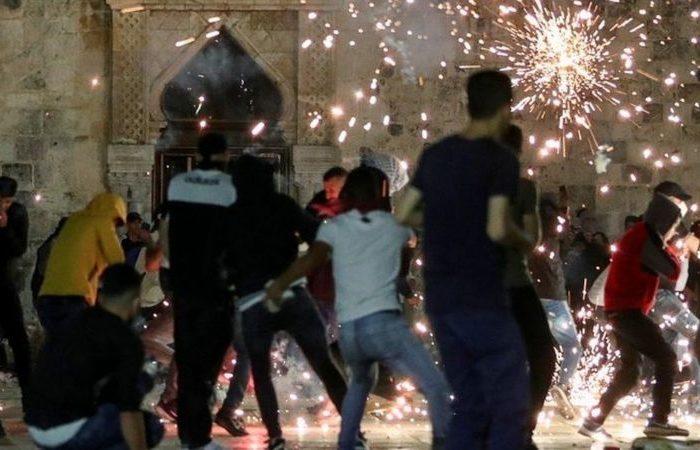 بیش از ۲۰۰ فلسطینی در درگیریهای بیتالمقدس زخمی شدند