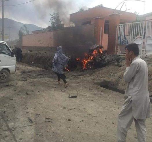 یک حمله انفجاری در غرب شهرکابل رخ داده است