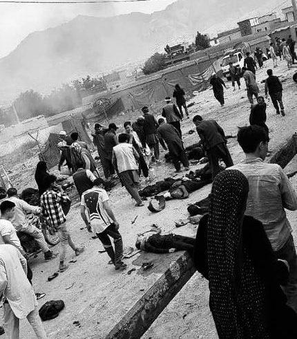 تلفات انفجارهای پیهم درغرب کابل به ۵۰کشته و ۱۰۰ زخمی افزایش یافت