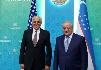 زلمی خلیلزاد با وزیر خارجۀ ازبیکستان درمورد صلح افغانستان گفت وگو کرد