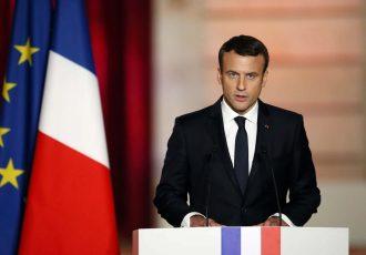 رییس جمهور فرانسه به زبان فارسی با مردم افغانستان همدردی کرد