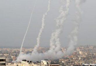 حملههای موشکی و هوایی اسرائیل بر فلسطین