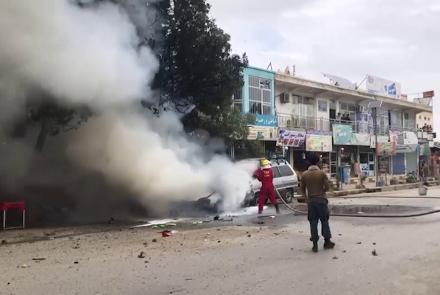 انفجار در کندز چهار زخمی برجای گذاشت