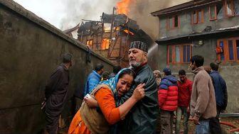 آتشسوزی دریک شفاخانۀ کرونایی درهند جان ۱۵ بیمار را گرفت
