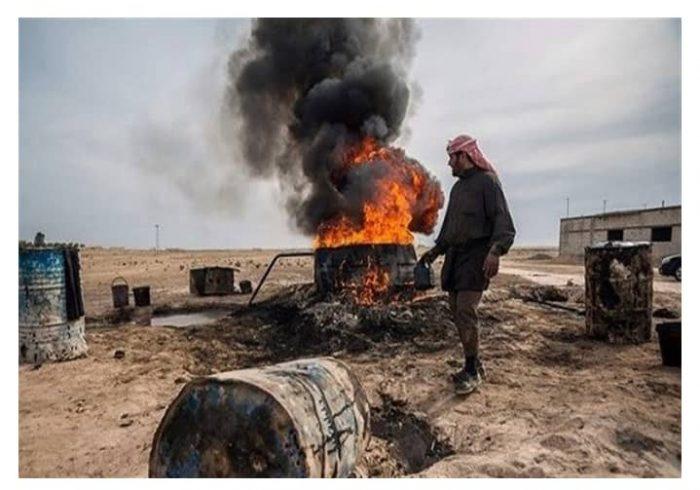حمله داعش بر ۲ چاه نفتی در کرکوک عراق.