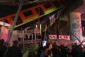 ریزش پل قطار شهری در مکزیک دستکم ۱۵ کشته و ۷۰ زخمی برجای گذاشت