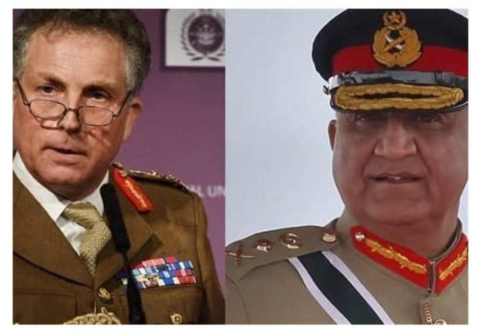 رییسان ستاد ارتش پاکستان و انگلیستان وارد کابل شده اند
