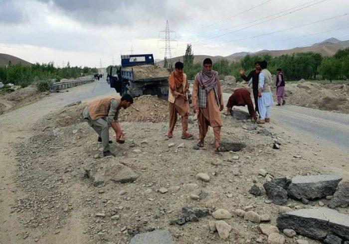 شاهراه کابل – قندهار بازسازی میشود