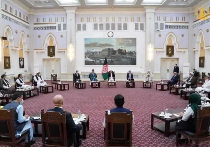نشست مشورتی غنی با رهبران سیاسی؛ به اجماع «قوی سیاسی» تاکید صورت گرفت