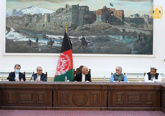 بسیجسازی مردم علیه طالبان در نشست امنیتی ریاستجمهوری مورد بحث قرار گرفت