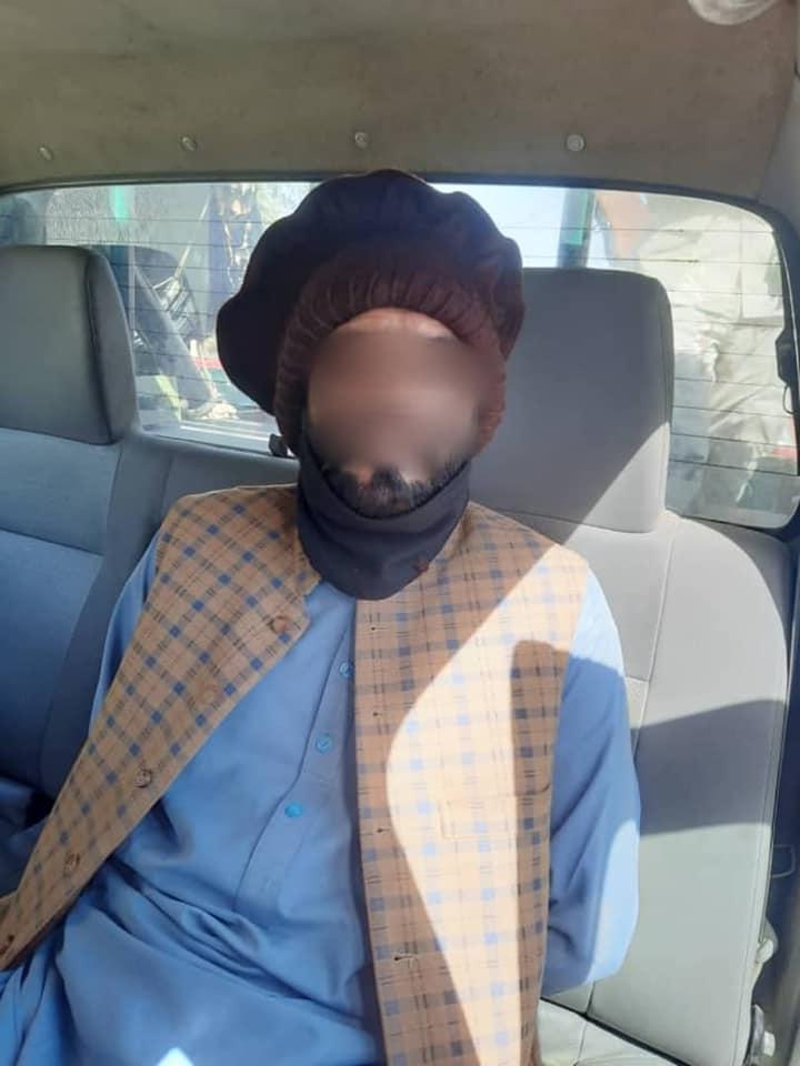 بازداشت یک ماینگذار از شهر کابل