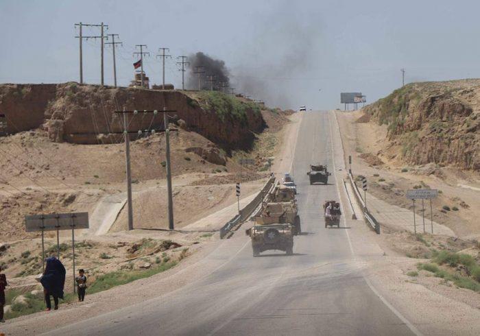 سقوط ولسوالی دولتآباد ولایت فاریاب به دست طالبان