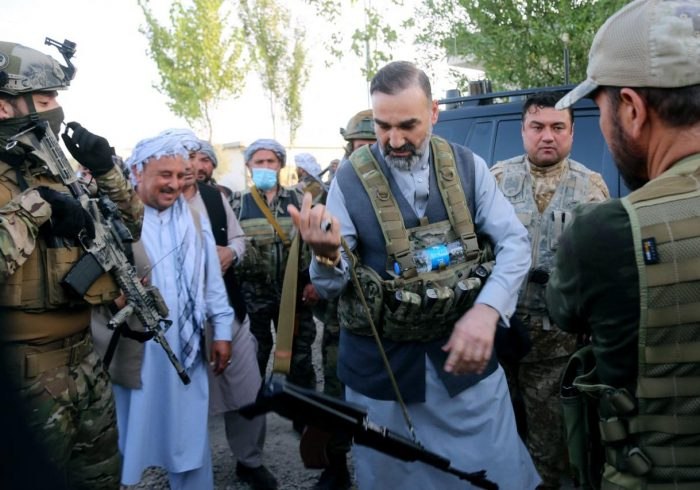 رهبر حزب جمعیت اسلامی: طالبان در اشغال «بندرحیرتان» شکست خوردند