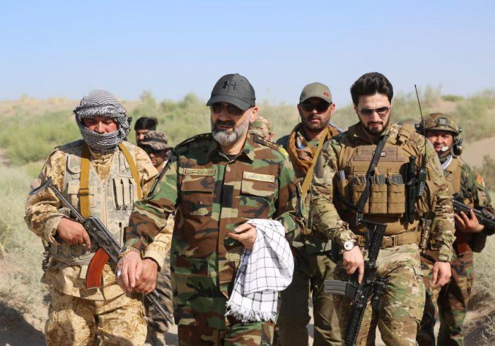 رهبر حزب جمعیت اسلامی: ولسوالی شورتپهی بلخ از وجود طالبان پاکسازی شد