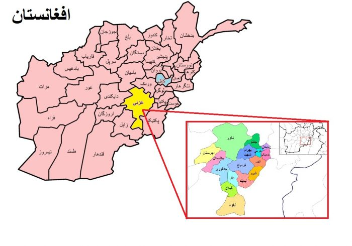 یک چرخبال در داخل لوای ارتش در غزنی هدف موشک طالبان قرار گرفت