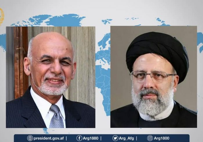 غنی و رئیسی بر گسترش روابط ایران و افغانستان تاکید کردند