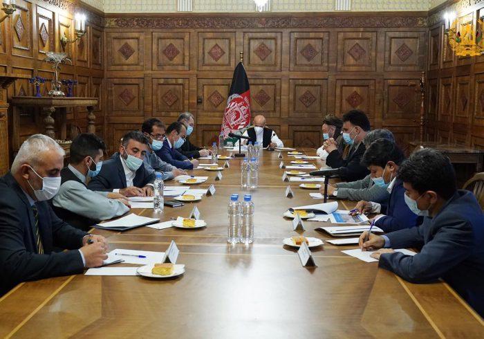 طرح امنیتی برای غرب کابل از سوی ارگ ریاستجمهوری مورد بررسی قرار گرفت