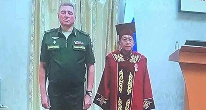 فرمانده حکومت میانمار در مسکو: با امریکا نزدیکی سیاسی نداریم