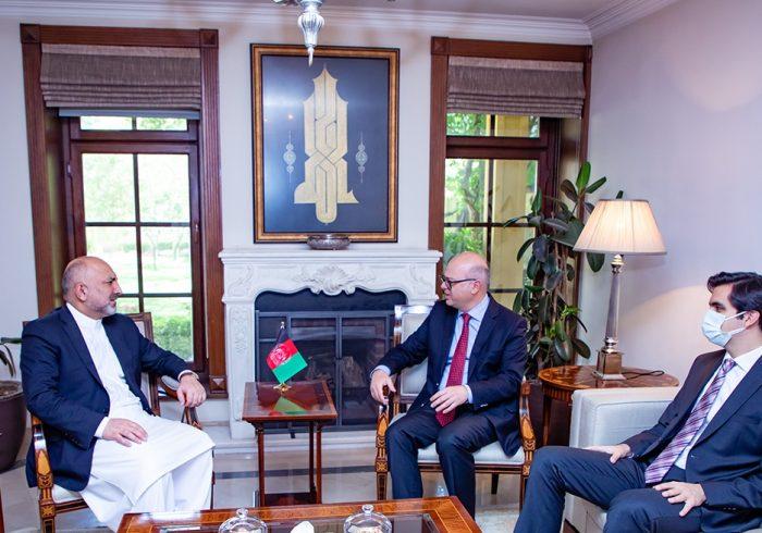 انقره به جلب همکاری اسلامآباد در روند صلح افغانستان تلاش میکند