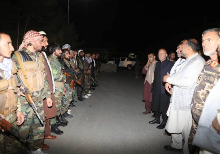 قیام مسلحانه باشندگان پروان علیه طالبان