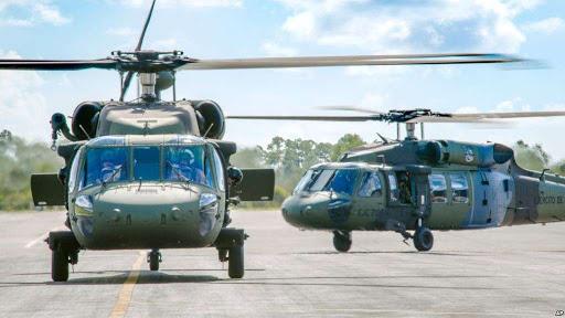واشنگتن ۴۵ چرخبال نظامی به نیروهای امنیتی افغان کمک میکند