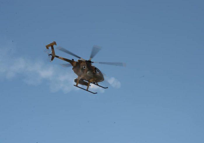 صالح: هلیکوپترهای نیروهای هوایی دیگر در اختیار افراد غیرنظامی قرار نمیگیرند