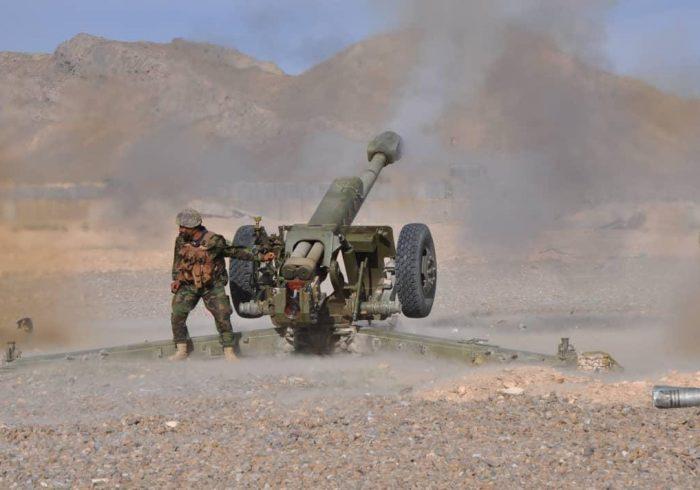 ولسوالی بهارک بدخشان از کنترل طالبان آزاد کرد