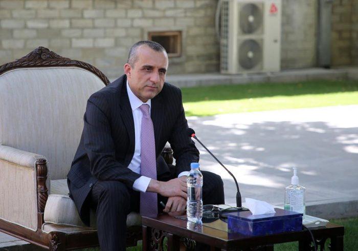 صالح: منسوبان امنیتیکه به طالبان تسلیم شده بودند، بازداشت شدند
