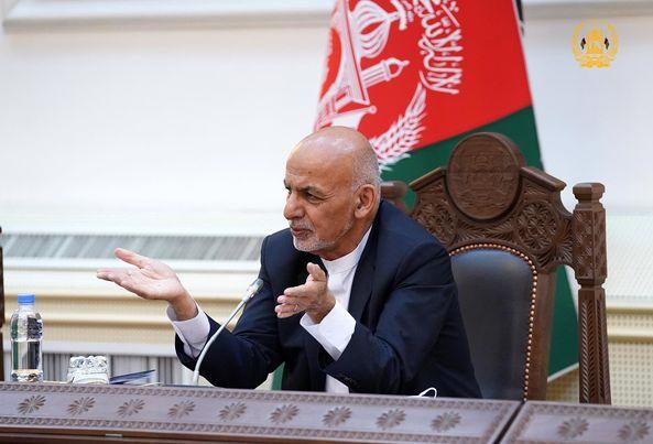 غنی:«اگر طالبان به فکر تسلیمی گرفتن باشند، صد سال دیگر به این آرمان نمیرسند»