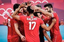 پیروزی تیم ملی والیبال ایران در مقابل ونزوئلا در توکیو