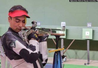 اشتراک ورزشکار افغان در بازیهای المپیک ۲۰۲۰ در بخش نشانزنی