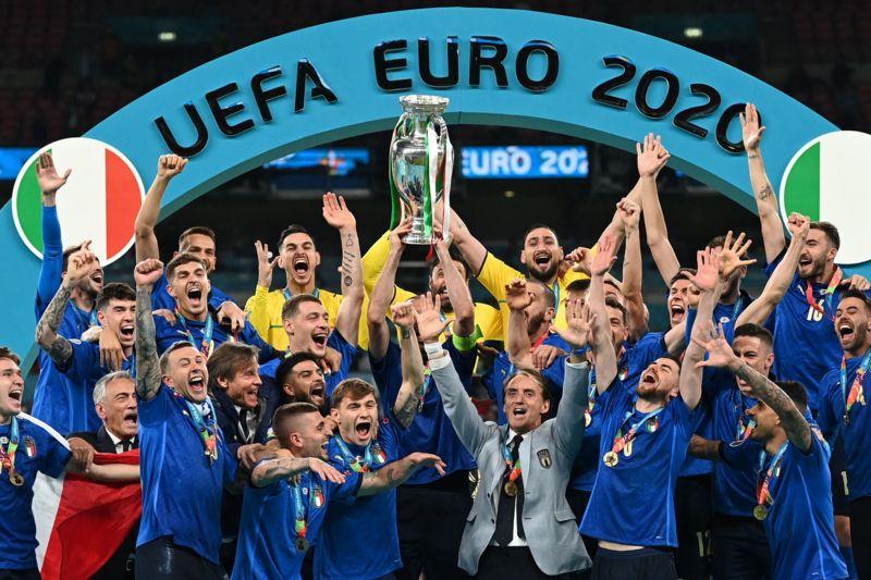 تیم ملی فوتبال ایتالیا قهرمان یورو۲۰۲۰ شد