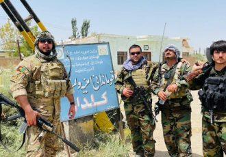ولسوالی کلدار بلخ از چنگ طالبان آزد شد