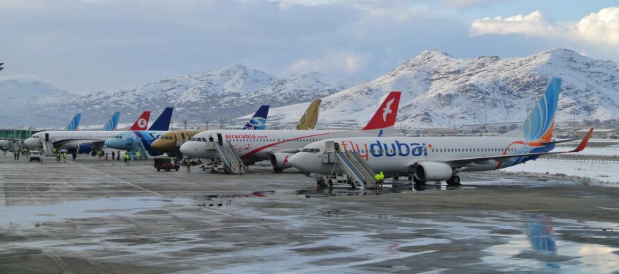 پروازهای افغانستان از مسیر امارات متحدهی عربی به کشور سومی از سر گرفته شد