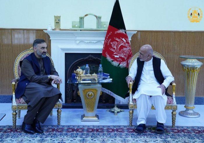 دیدار رییسجمهور با رهبر حزب جمعیت اسلامی