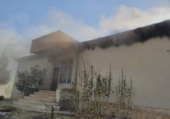 طالبان ساختمان انیستیتوت تخنیکی و مسلکی بغلان را ویران کردند