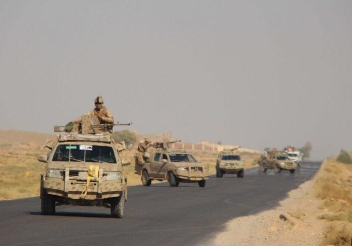 نظامیان افغان؛ حمله طالبان را به مرکز  هلمند عقب راندن