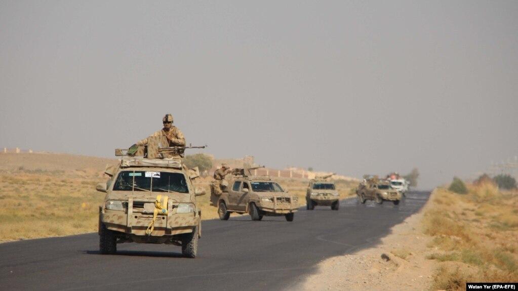 نظامیان افغان؛ حمله طالبان به مرکز ولایت هلمند را عقب راندن
