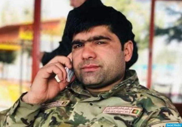 آمر حوزه دهم امنیتی پولیس هرات در نبرد باطالبان جان باخت