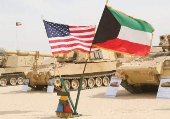 کاروان لجستیک ارتش آمریکا در مرز عراق هدف حمله راکتی قرار گرفته است
