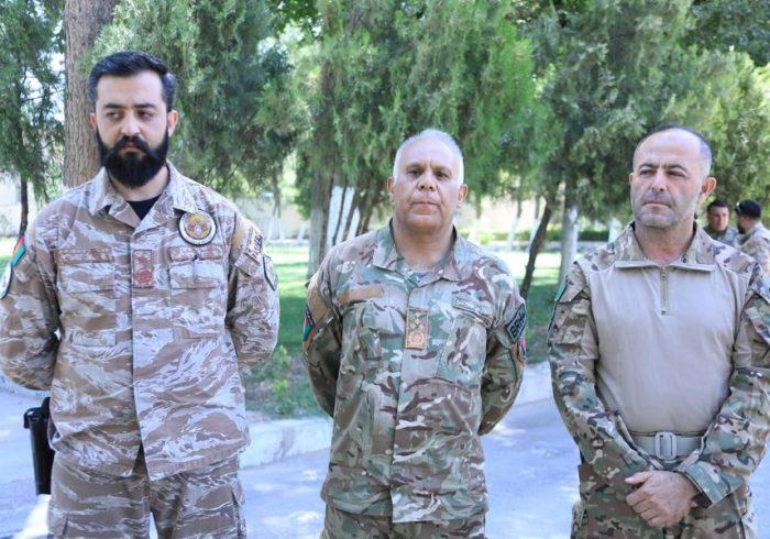 مسوولان امنیتی هرات: ابتکار عمل در نبرد هرات به دست نظامیان کشور است