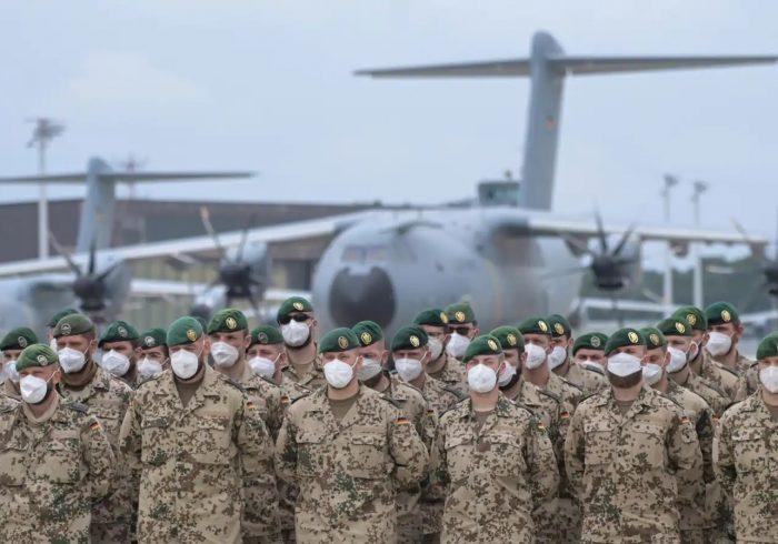 آلمان نیز برای انتقال شهروندان خود به افغانستان نیرو می فرستد