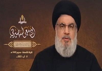 دبیرکل حزب الله لبنان: امریکا درپی تضعیف لبنان است