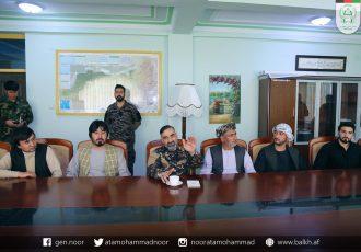 غنی به مزار شریف رفت؛ استاد عطامحمد نور: آماده دفاع از شمال استیم