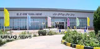 اصابت چند فیر هاوان به میدان هوایی هرات