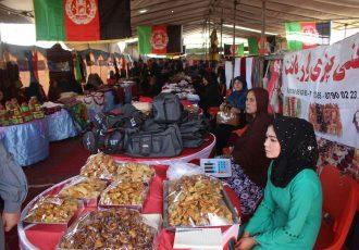 کاهش کار و بار زنان بازرگان در افغانستان