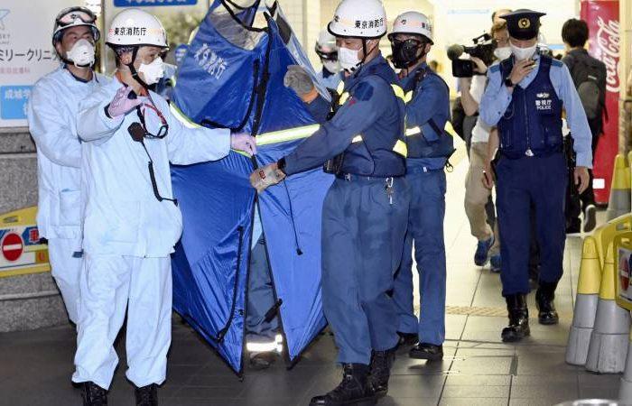 حمله با چاقو در پایتخت جاپان ۱۰ مجروج بر جا گذاشت