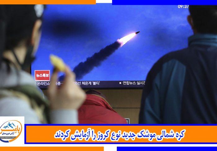 کره شمالی موشک جدید نوع کروز را آزمایش کردند