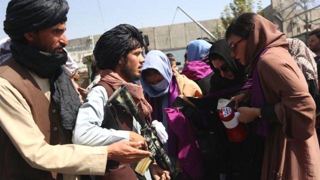 برای زنان کابل از سوی طالبان اجازه تظاهرات داده نشد