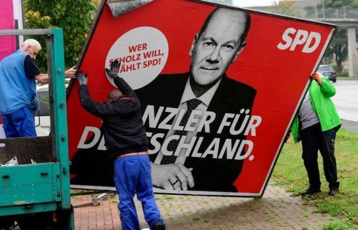 مذاکرات برای تشکیل دولت ائتلافی در آلمان آغاز شده است